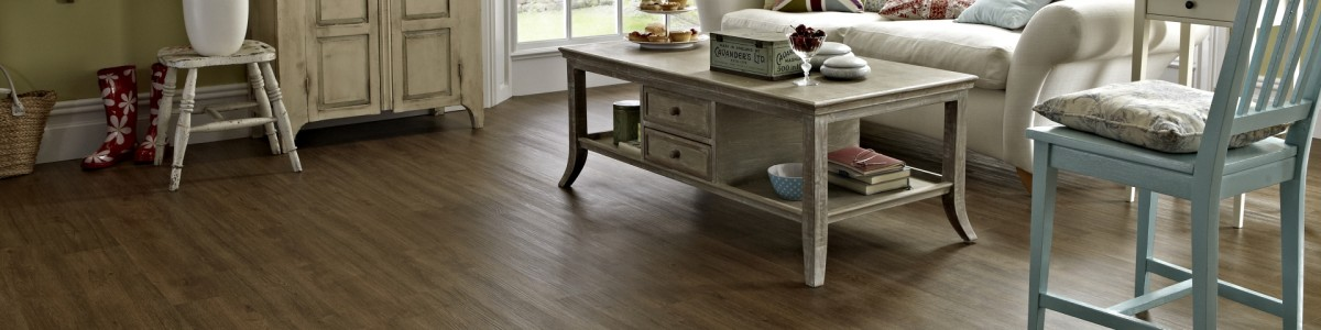 Karndean Knight Tile, Mid Brushed Oak